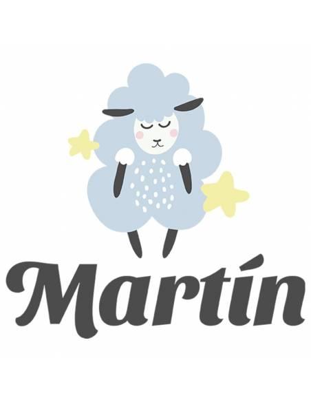 Chupete Personalizado a Color Oveja Azul - Chupetes personalizados para bebés