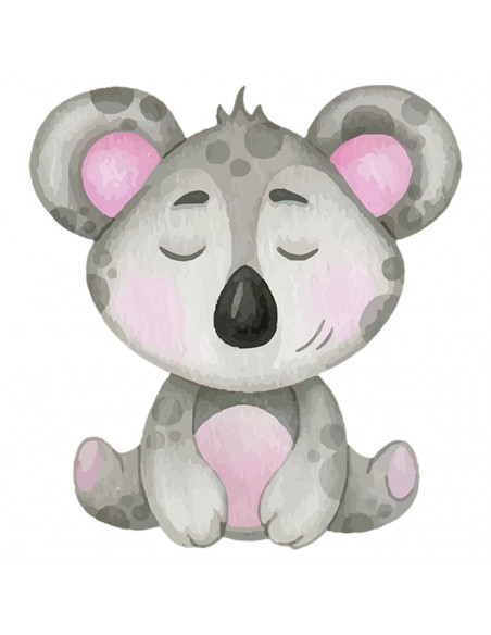 Chupete Personalizado a Color Koala - Chupetes personalizados para bebés