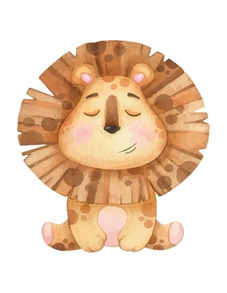 Chupete Personalizado a Color León - Chupetes personalizados para bebés