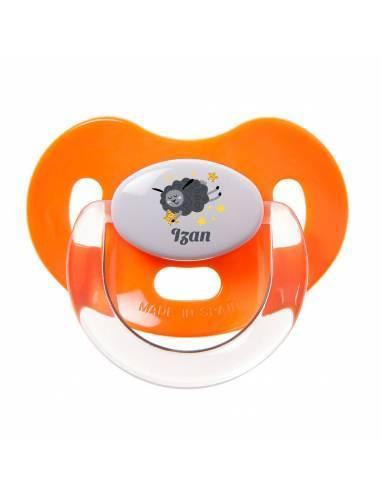 Chupete Personalizado a Color Oveja Negra - Chupetes personalizados para bebés