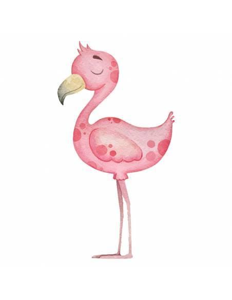 Chupete Personalizado a Color Flamenco - Chupetes personalizados para bebés