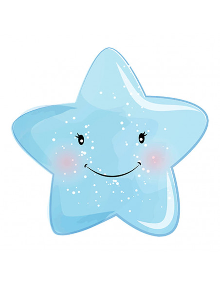 Chupete Personalizado a Color Estrella - Chupetes personalizados para bebés