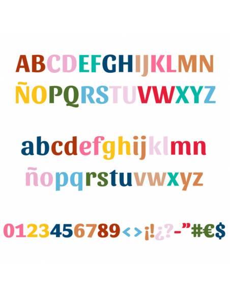 Chupete Personalizado a Color Arcoiris Corazón - Chupetes personalizados para bebés