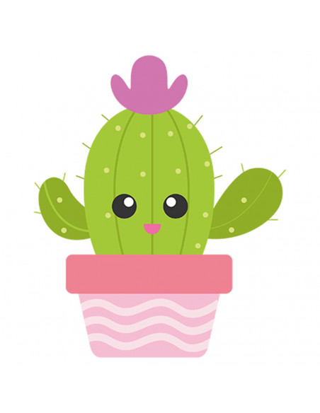 Chupete Personalizado a Color Cactus Rosa - Chupetes personalizados para bebés