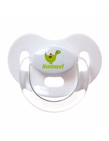 Chupete Personalizado a Color Dragón - Chupetes personalizados para bebés