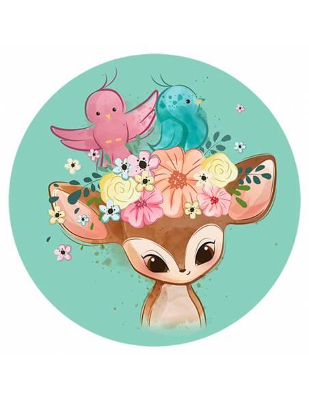 Chupete Personalizado a Color Bambi - Chupetes personalizados para bebés