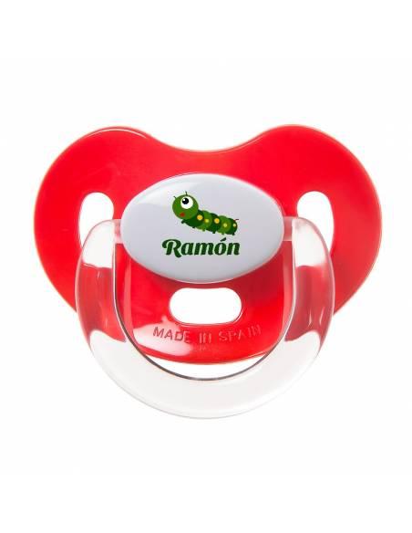 Chupete Personalizado a Color Oruga - Chupetes personalizados para bebés