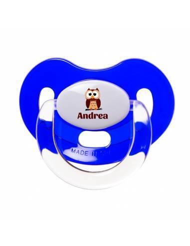 Chupete Personalizado a Color Búho - Chupetes personalizados para bebés