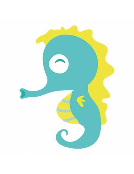 Chupete Personalizado a Color Caballito de Mar - Chupetes personalizados para bebés
