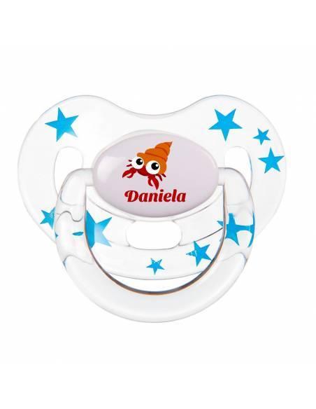 Chupete Personalizado a Color Caracola - Chupetes personalizados para bebés