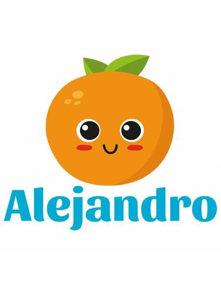 Chupete Personalizado a Color Naranja - Chupetes personalizados para bebés