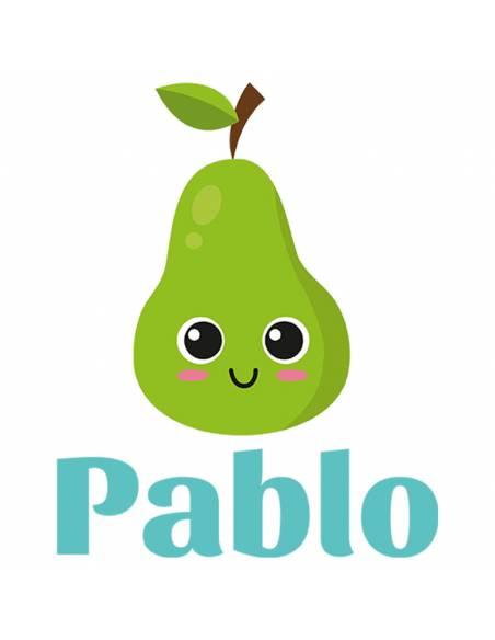 Chupete Personalizado a Color Pera - Chupetes personalizados para bebés
