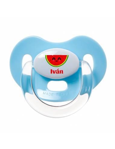 Chupete Personalizado a Color Sandía - Chupetes personalizados para bebés