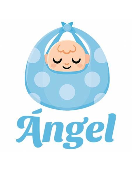 Chupete Personalizado a Color Bebé Azul - Chupetes personalizados para bebés