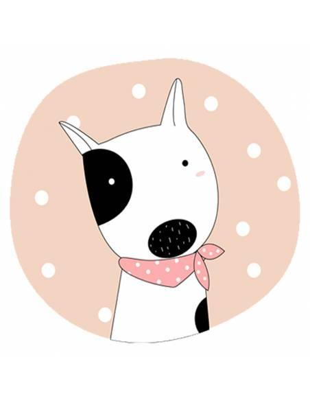Chupete Personalizado a Color Perro - Chupetes personalizados para bebés