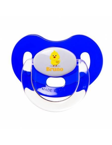 Chupete Personalizado a Color Pollo - Chupetes personalizados para bebés