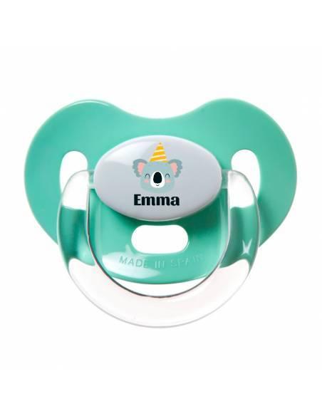 Chupete Personalizado a Color Koala con Gorro - Chupetes personalizados para bebés