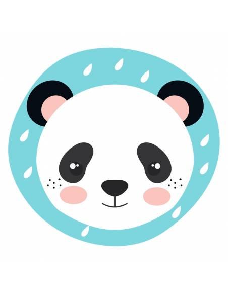 Chupete Personalizado a Color Panda - Chupetes personalizados para bebés