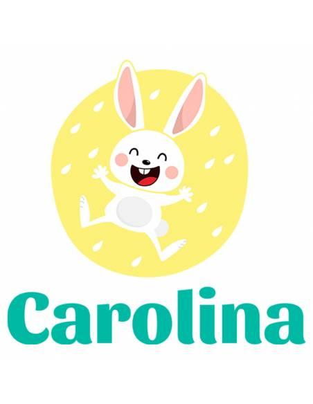 Chupete Personalizado a Color Conejo - Chupetes personalizados para bebés