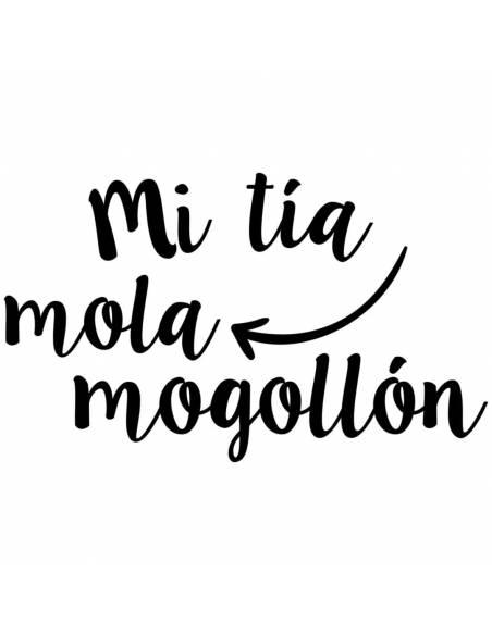 "Chupete con frase ""Mi tía mola mogollón"" - Chupetes originales con frases"