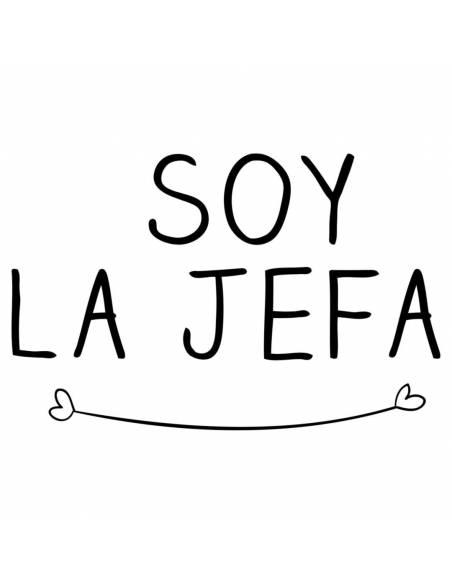 """Chupete con frase """"SOY LA JEFA"""" - Chupetes originales con frases"""