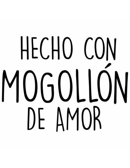 """Chupete con frase """"HECHO CON MOGOLLÓN DE AMOR"""" - Chupetes originales con frases"""