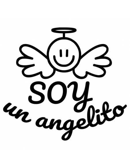 """Chupete con frase """"SOY un angelito"""" - Chupetes originales con frases"""