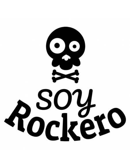 "Chupete con frase ""Soy ROCKERO"" - Chupetes originales con frases"