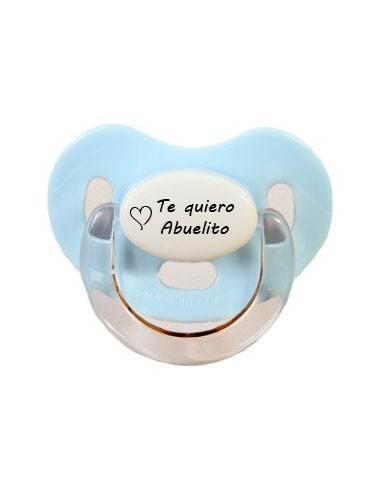 Te Quiero Abuelito - Chupetes originales con frases