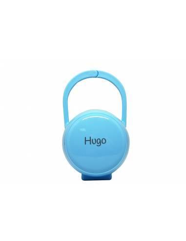 Caja Portachupetes Azul personalizada - Cajita portachupete personalizada
