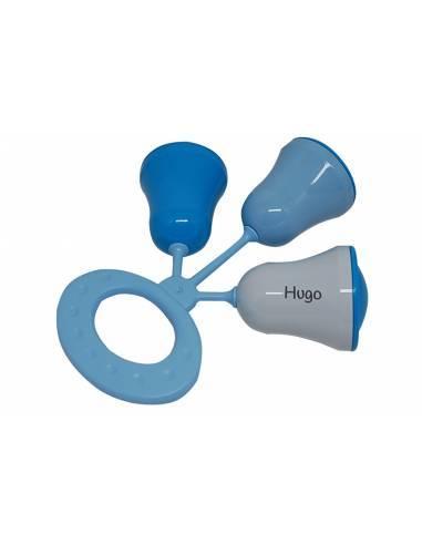 Sonajero Personalizado Campanas Azules - Sonajeros