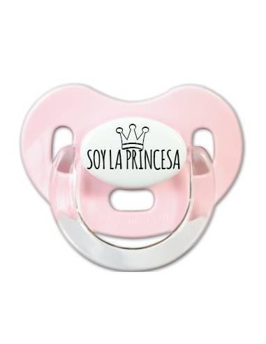 Soy la Princesa - Chupetes originales con frases