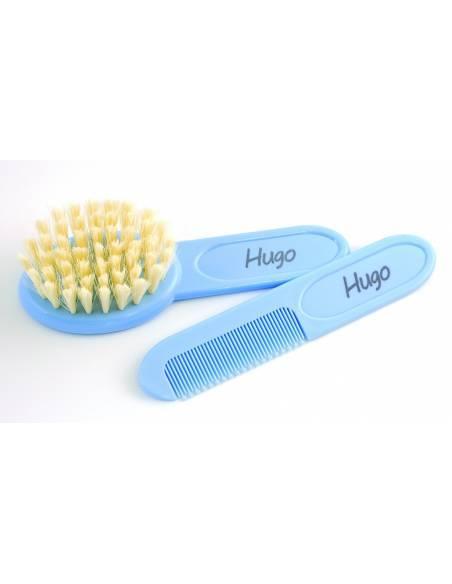 Conjunto Cepillo y Peine Azul - Inicio