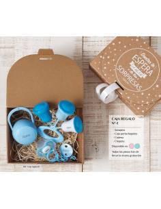 Caja regalo bebé personalizada Nº1