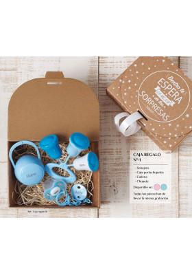 Cajas regalo para bebés personalizadas - Caja regalo bebé personalizada Nº1