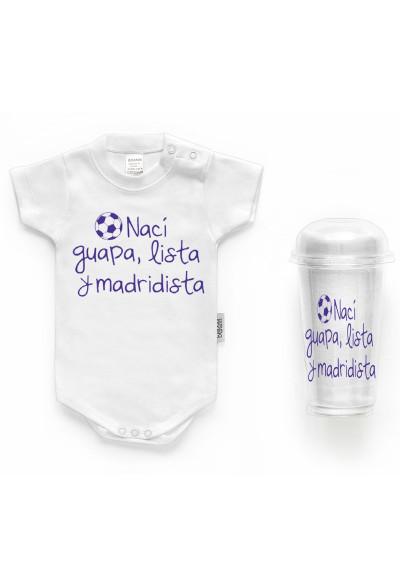 Body bebé personalizado con frase