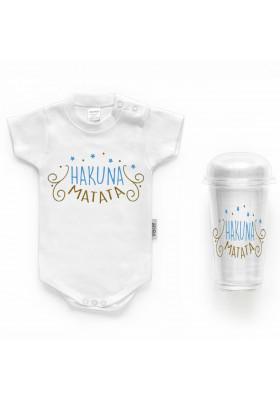 """BODYS BEBÉ PERSONALIZADOS - Body bebé personalizado FRASE """"HACUNA MATATA"""""""