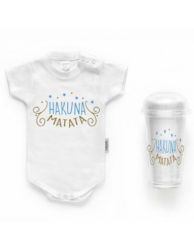"Body bebé personalizado FRASE ""HACUNA MATATA"" - Bodys bebé personalizados"
