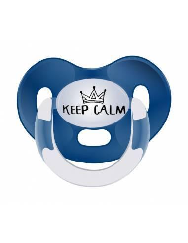Chupete con frase Keep Calm - Chupetes originales con frases