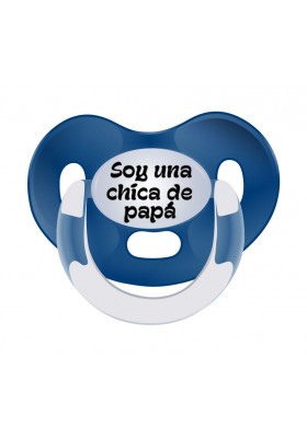 Chupetes Día del Padre - Chupete frase Soy una chica de papá