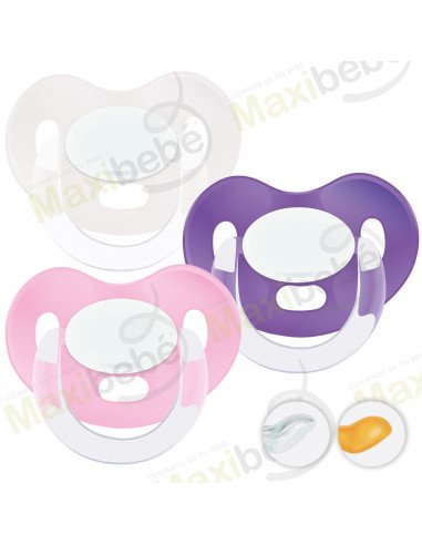 Chupetes Personalizados MAXIBEBÉ Niña 6-36m - Chupetes bebés 6-36 meses