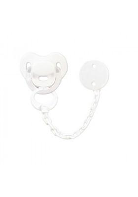 Conjuntos Personalizados con chupetes - Pack Chupete y chupetero Personalizado blanco