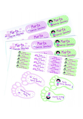 Etiquetas pegatinas Multiusos personalizadas