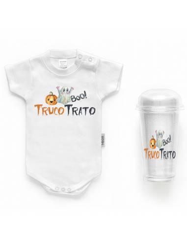 Body bebé HALLOWEEN FANTASMA - Bodys bebé personalizados