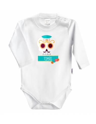 Body bebé HALLOWEEN personalizado con el nombre - Bodys bebé personalizados