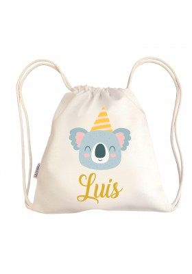TALEGAS BEBÉ PERSONALIZADAS - Mini talega bebé personalizada KOALA