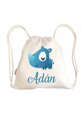 Mini talega bebé personalizada con diseños divertidos