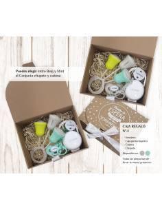 Caja regalo recién nacido personalizada Nº1