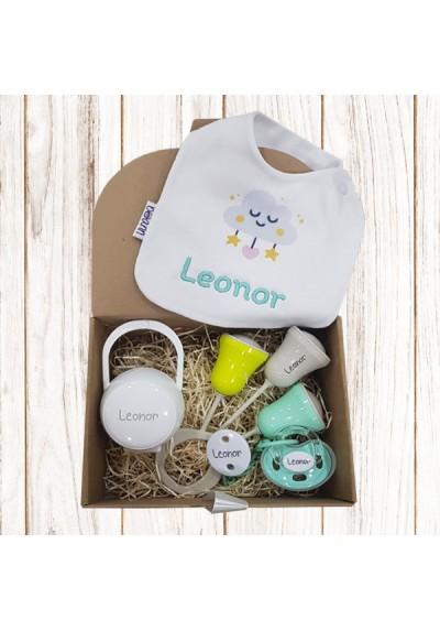 Cajas regalo para bebés personalizadas - Nueva caja regalo personalizada Nº2 de 6 a 36 meses