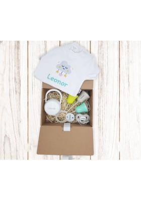 Nueva caja regalo BEBÉ personalizada Nº3 de 6 a 36 meses